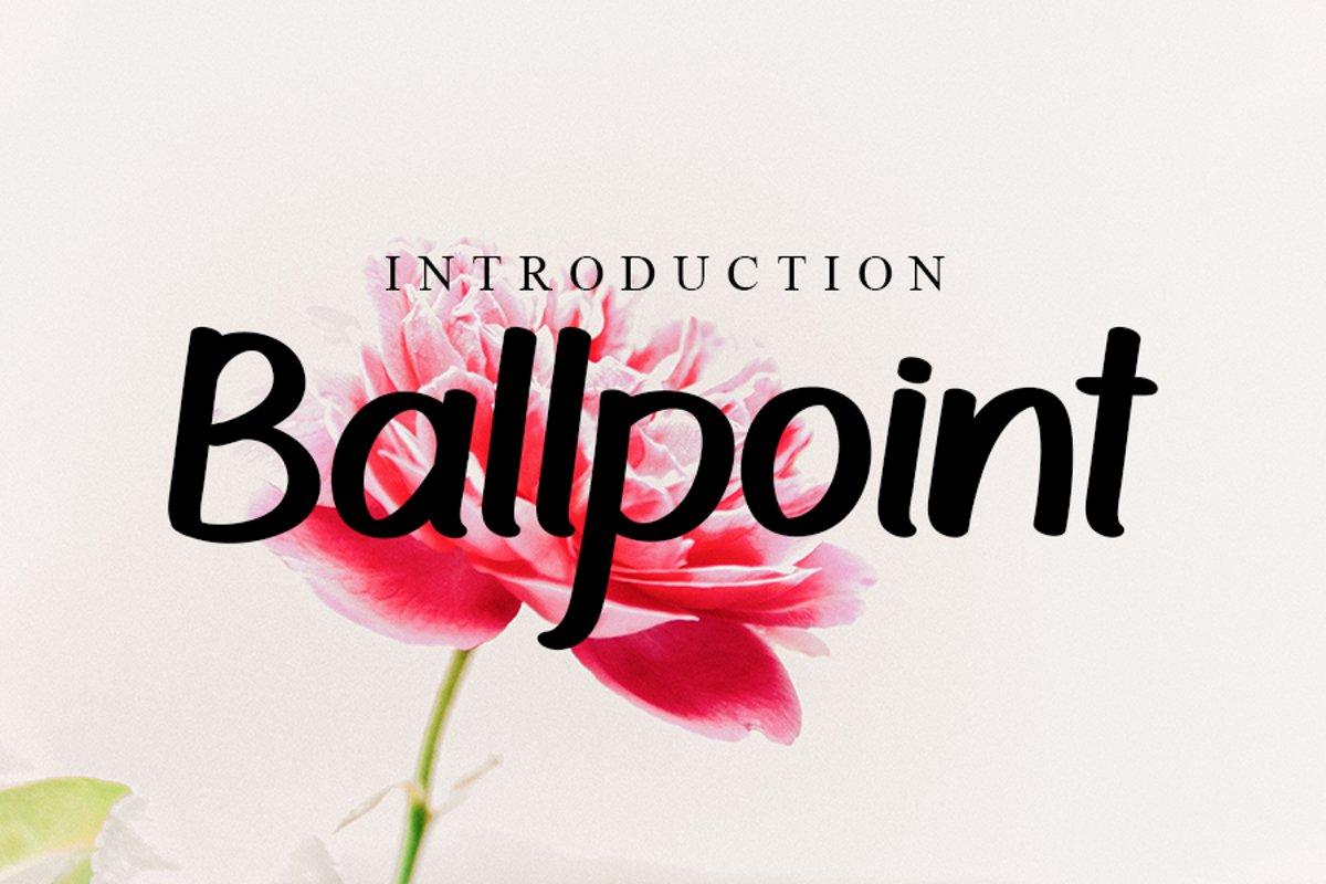 Ballpoint example image 1