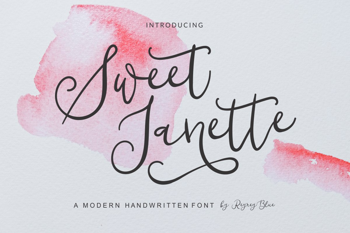 Sweet Janette example image 1