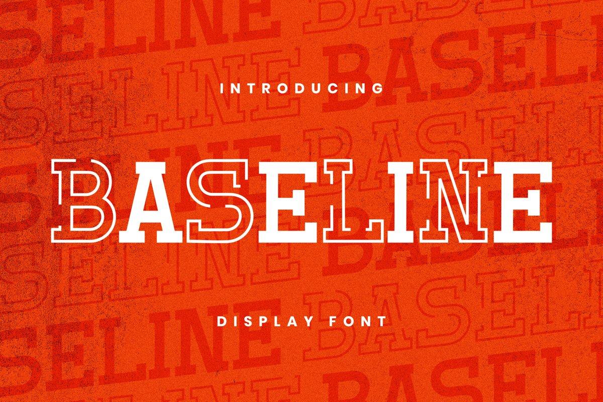 Baseline Font example image 1