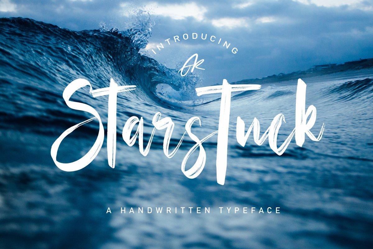 Starstuck Handwritten Font example image 1