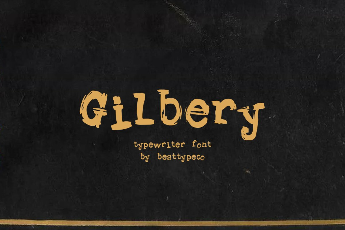 Gilbery example image 1