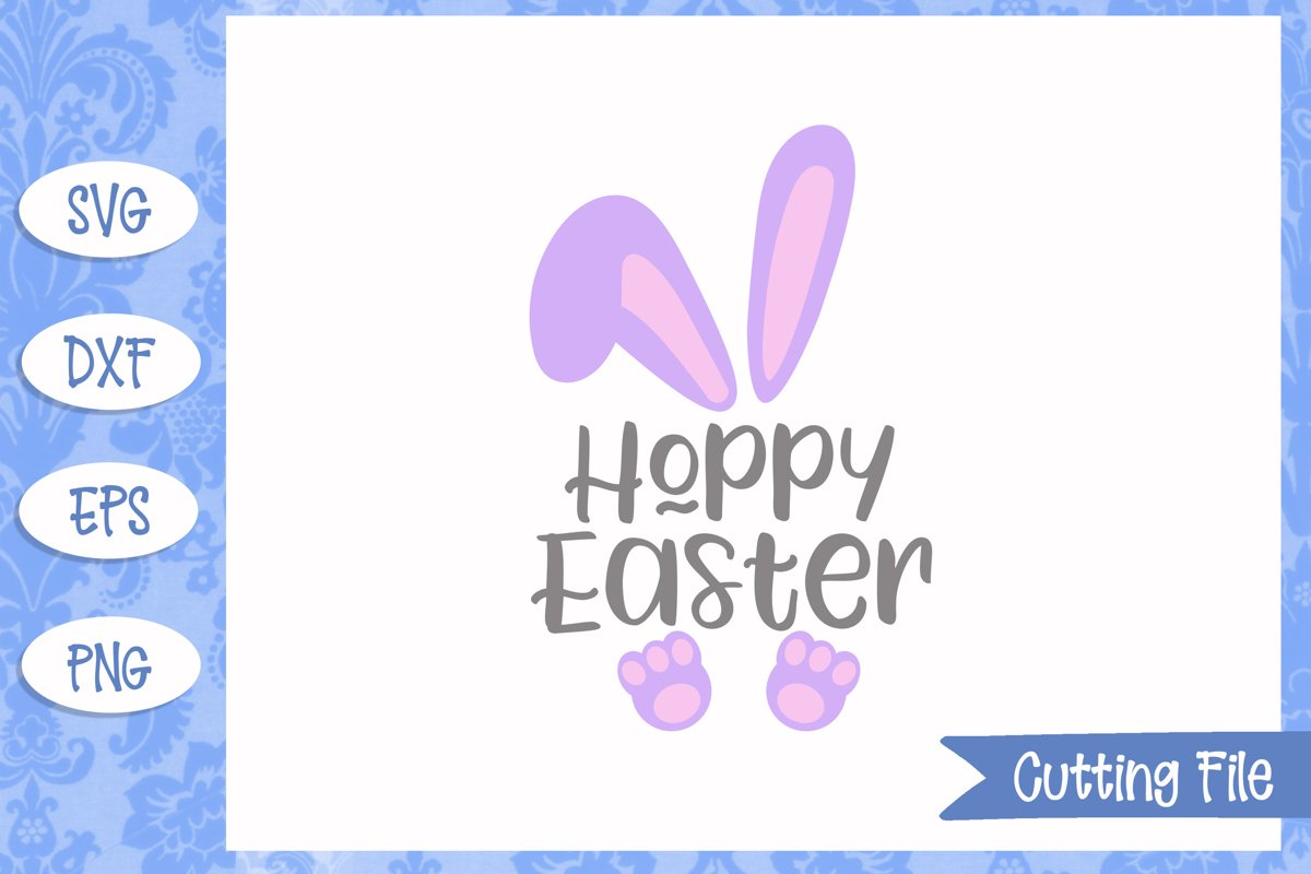 Hoppy Easter SVG File example image 1