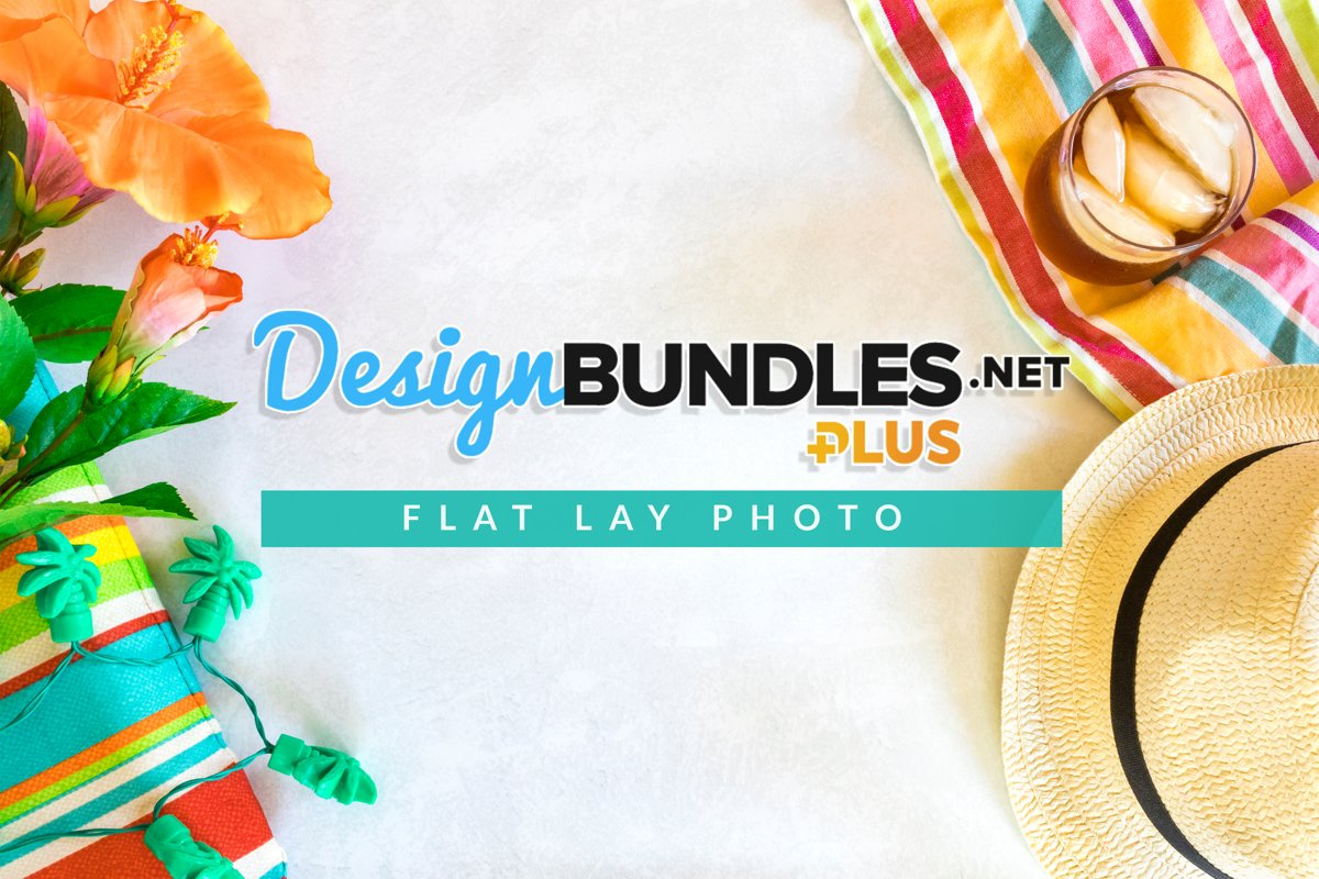 Summer Time Flat Lay Photo example image 1