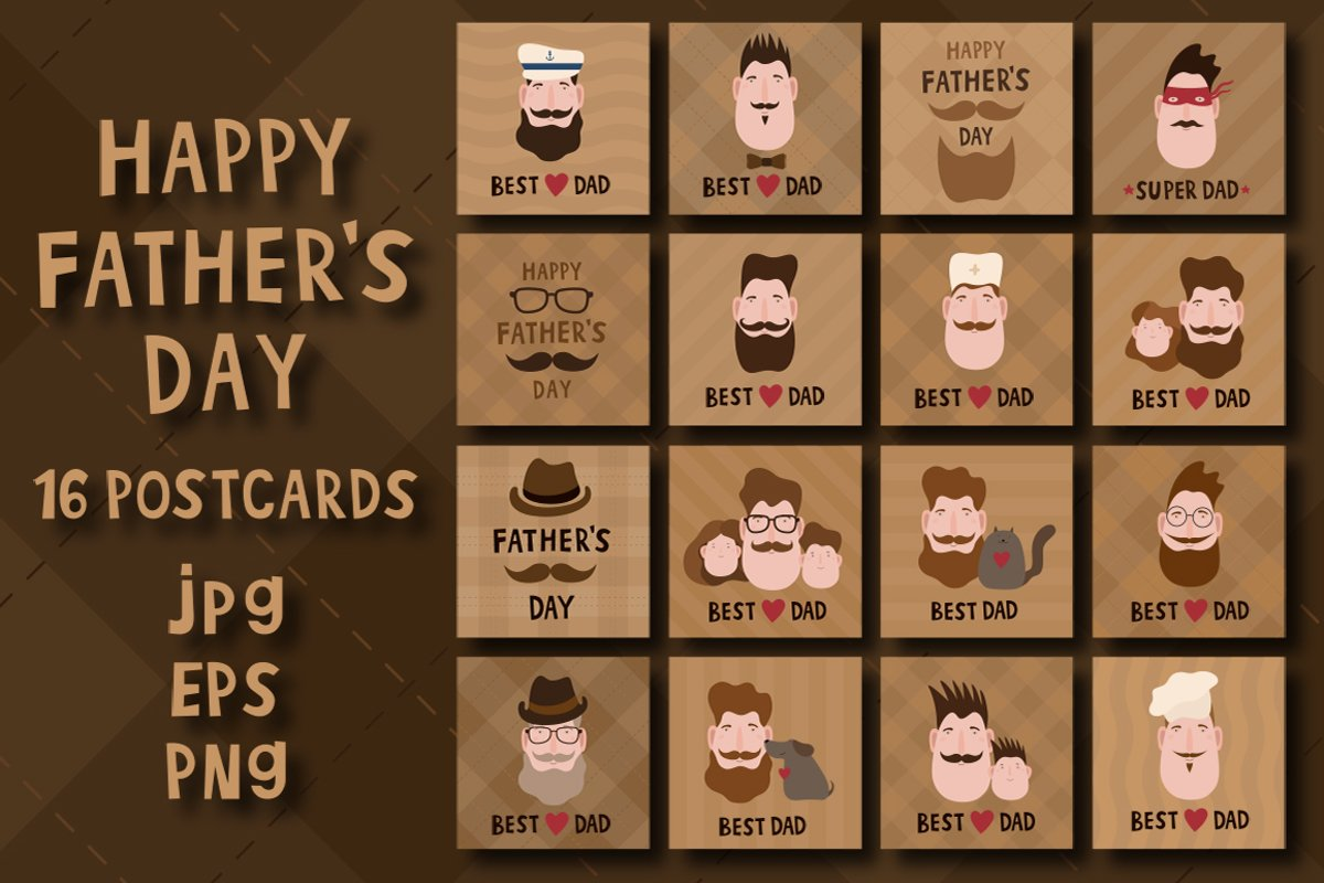 Fathers day greeting card example image 1