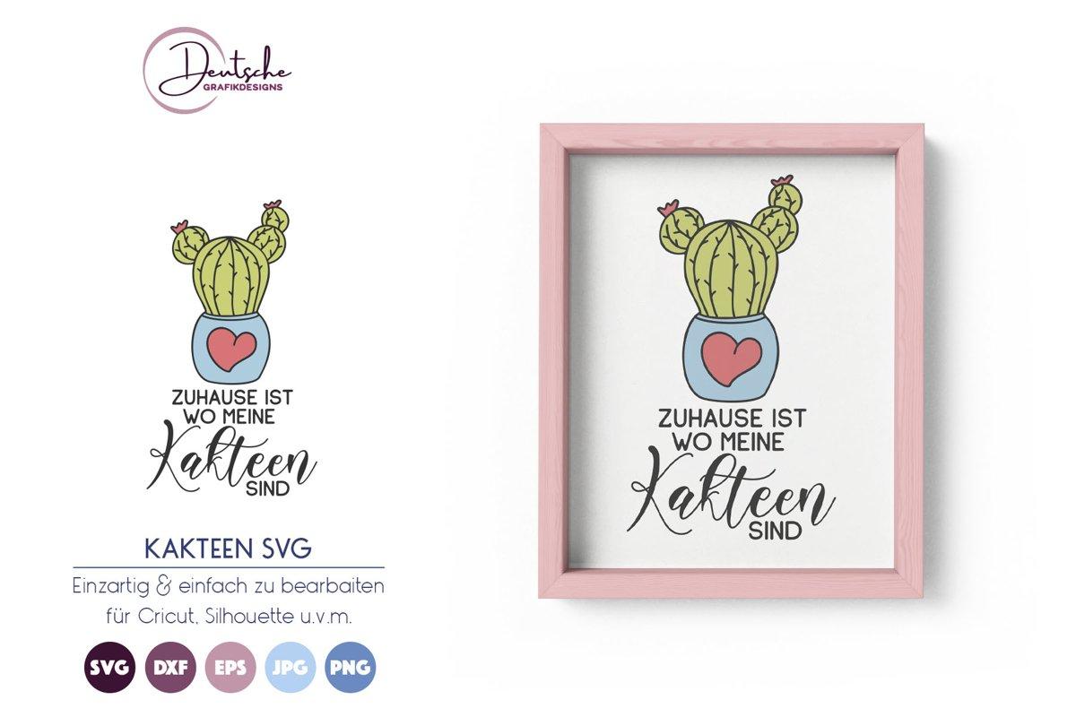 Kaktus SVG | Zuhause SVG | Sommer example image 1