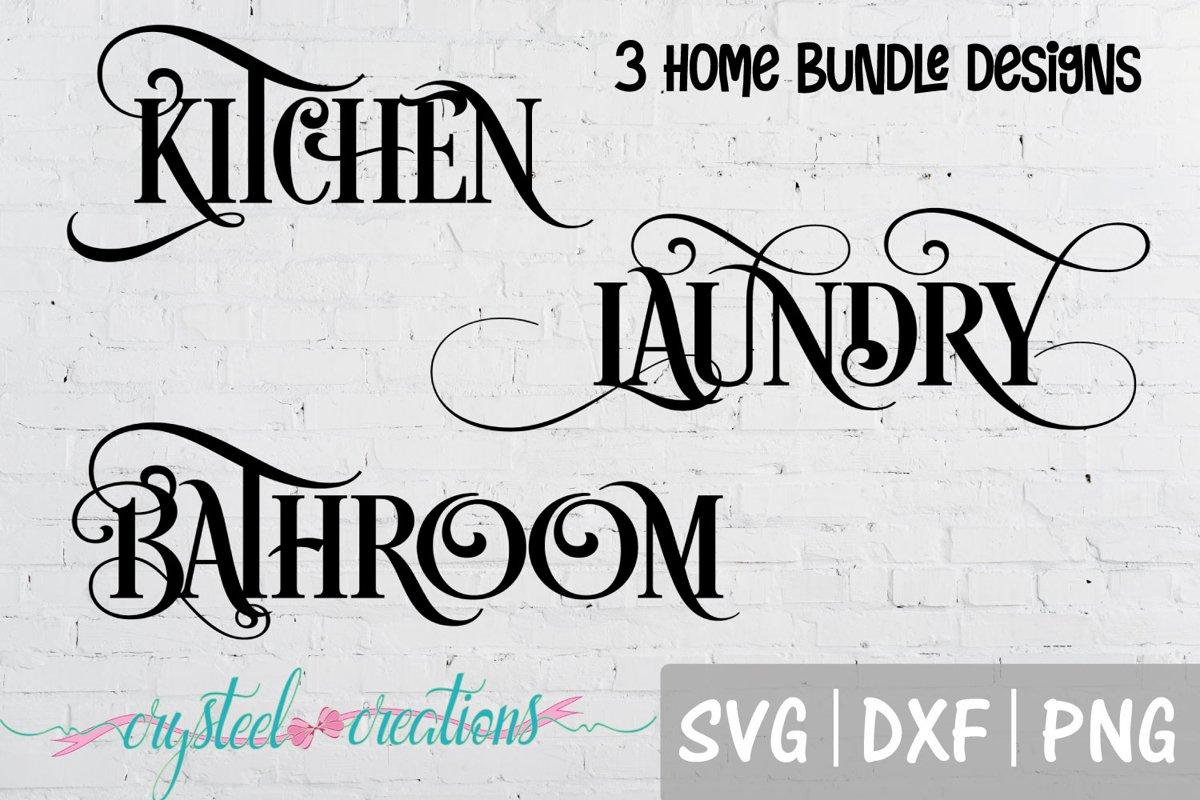 Kitchen, Laundry , Bathroom example image 1