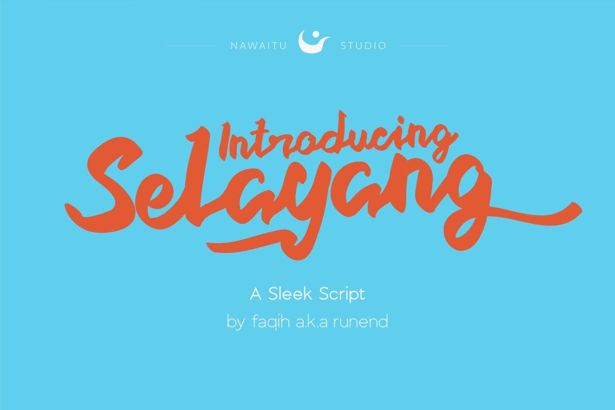Selayang Script example image 1