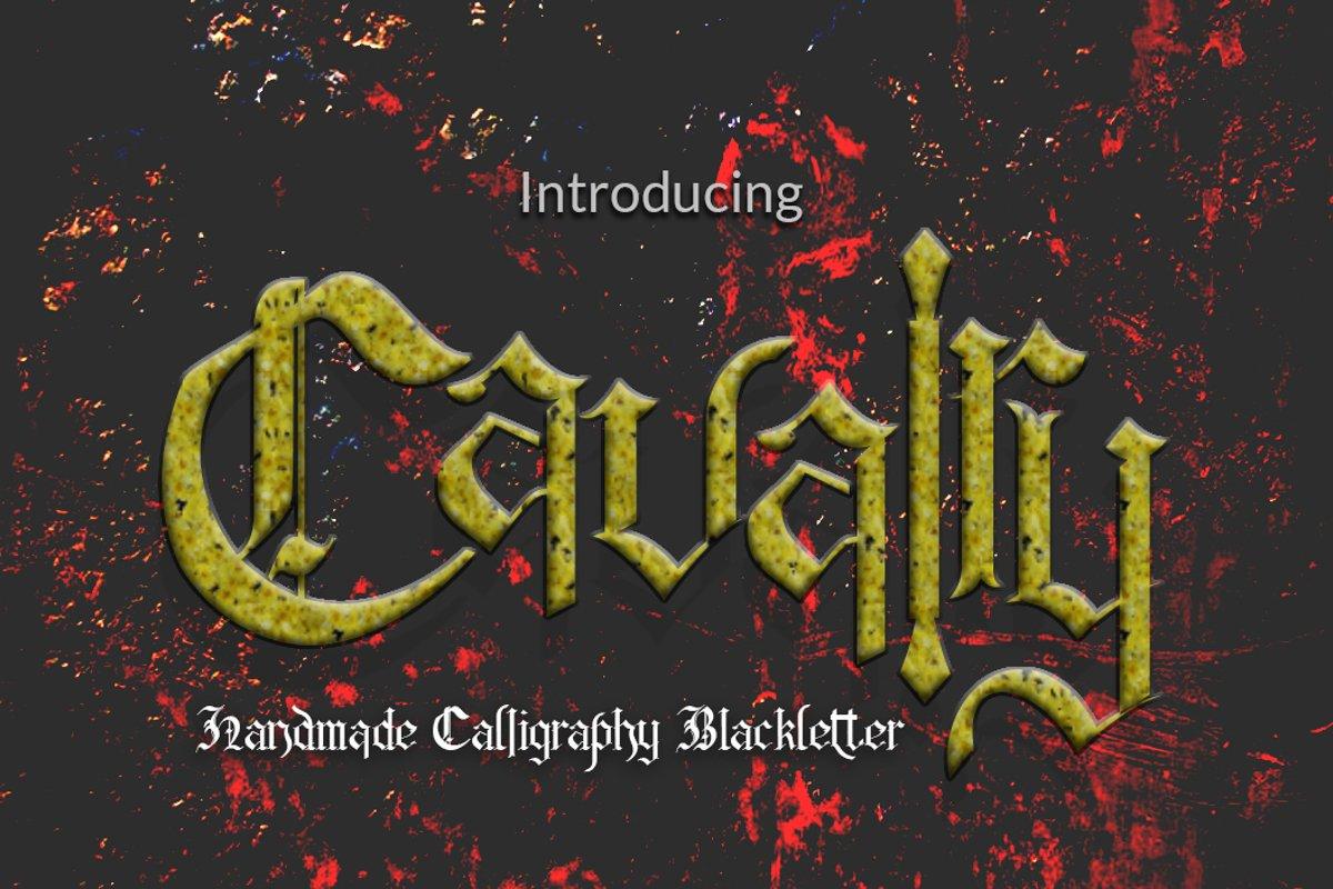 Cavalry + Bonus Vector example image 1