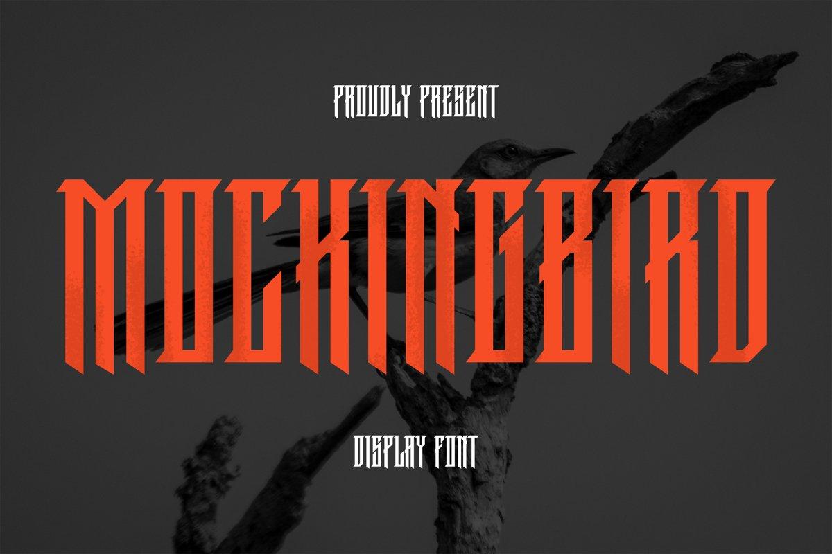 MockingBird Font example image 1