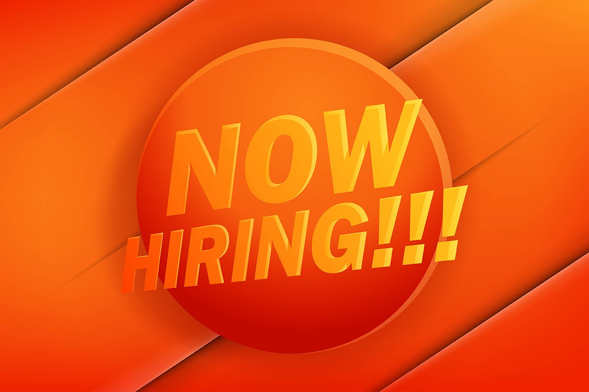 Now Hiring. Advertisement Poster or Banner Design example image 1