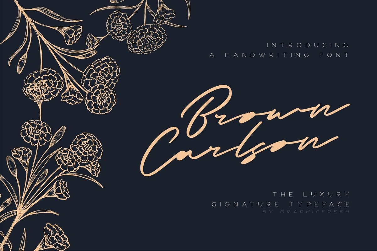 Brown Carlson - The Luxury Signature example image 1