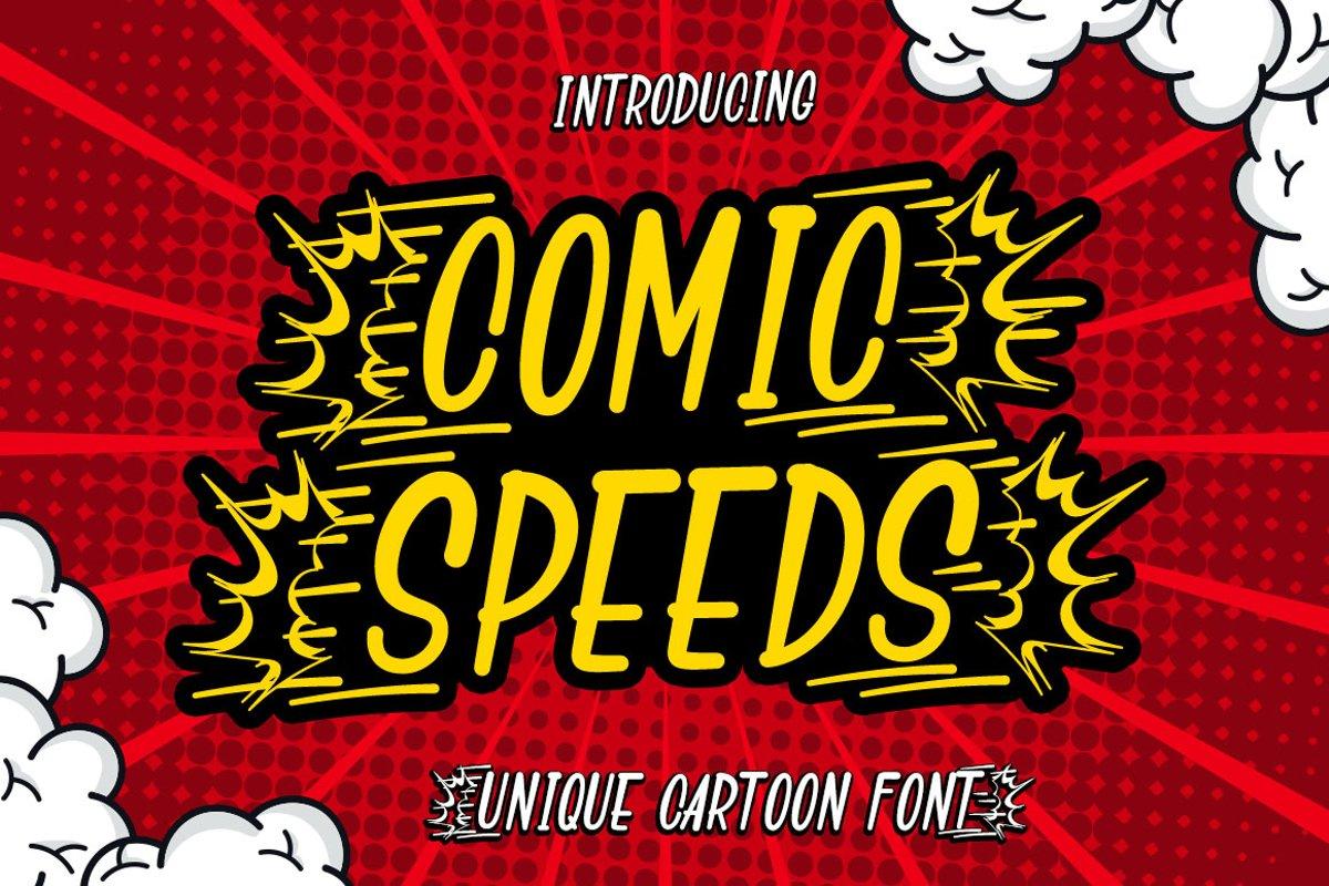 Comic Speeds example image 1
