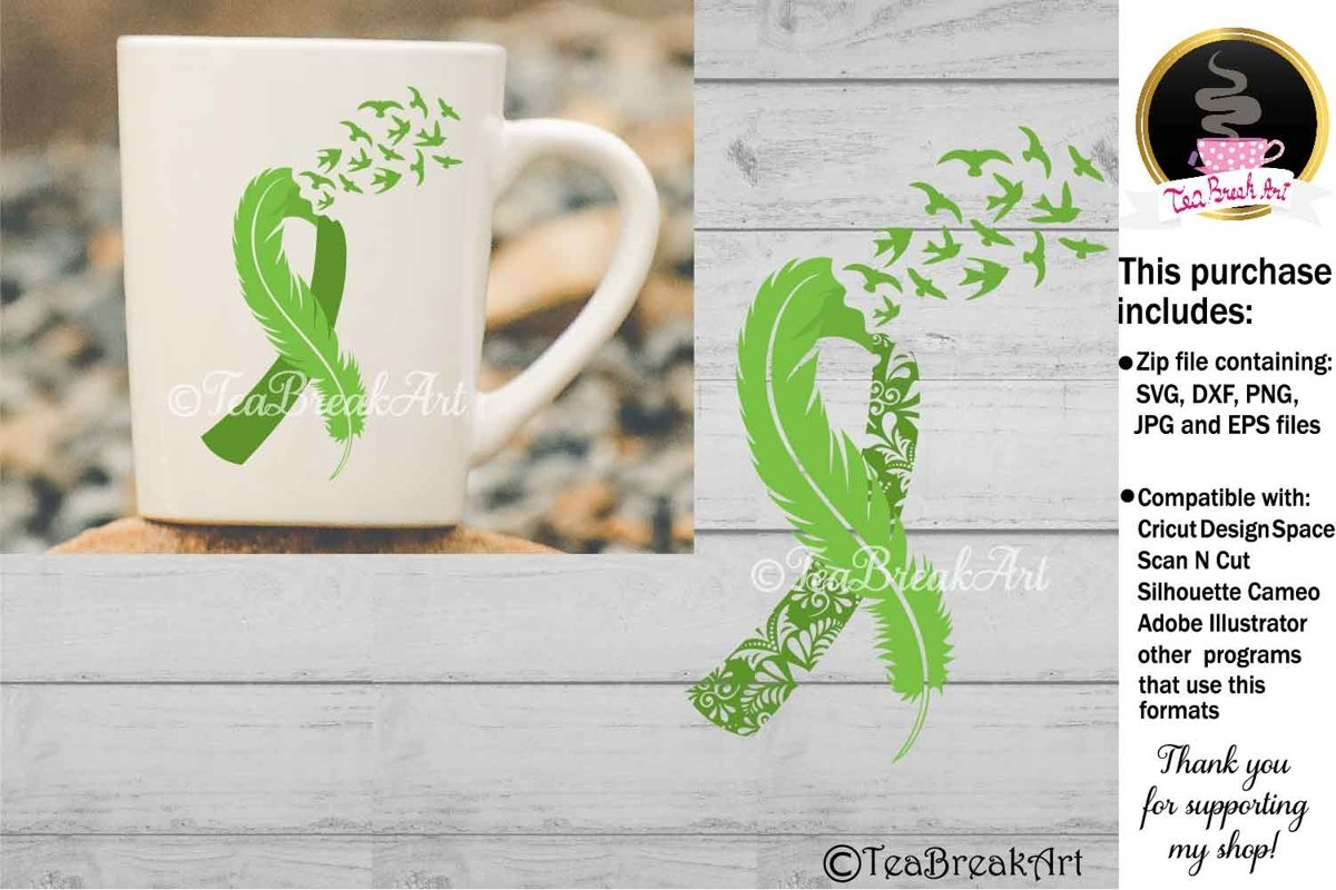 Kidney Cancer Awareness Svg Cutting files 1168 example image 1