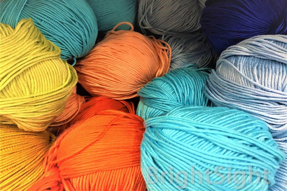 Multicolored yarn example image 1