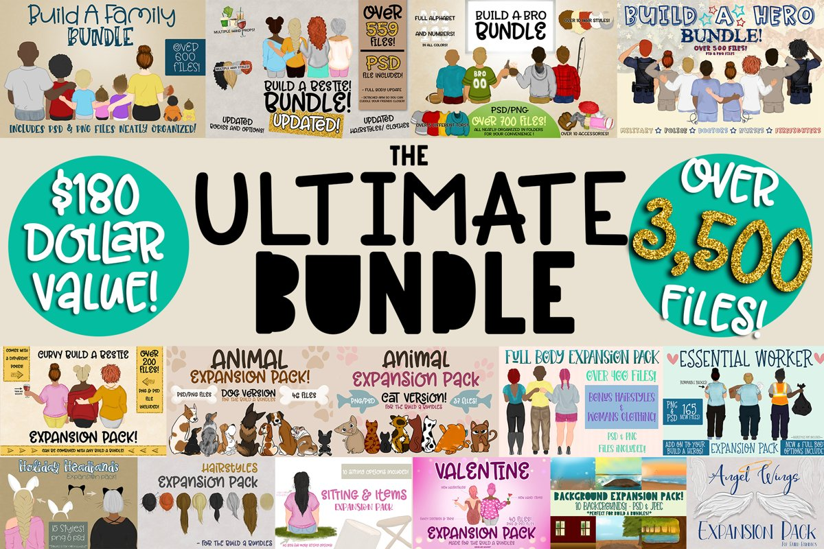 Ultimate Build a Bundle | Most Popular Bundles/ Expansions example image 1