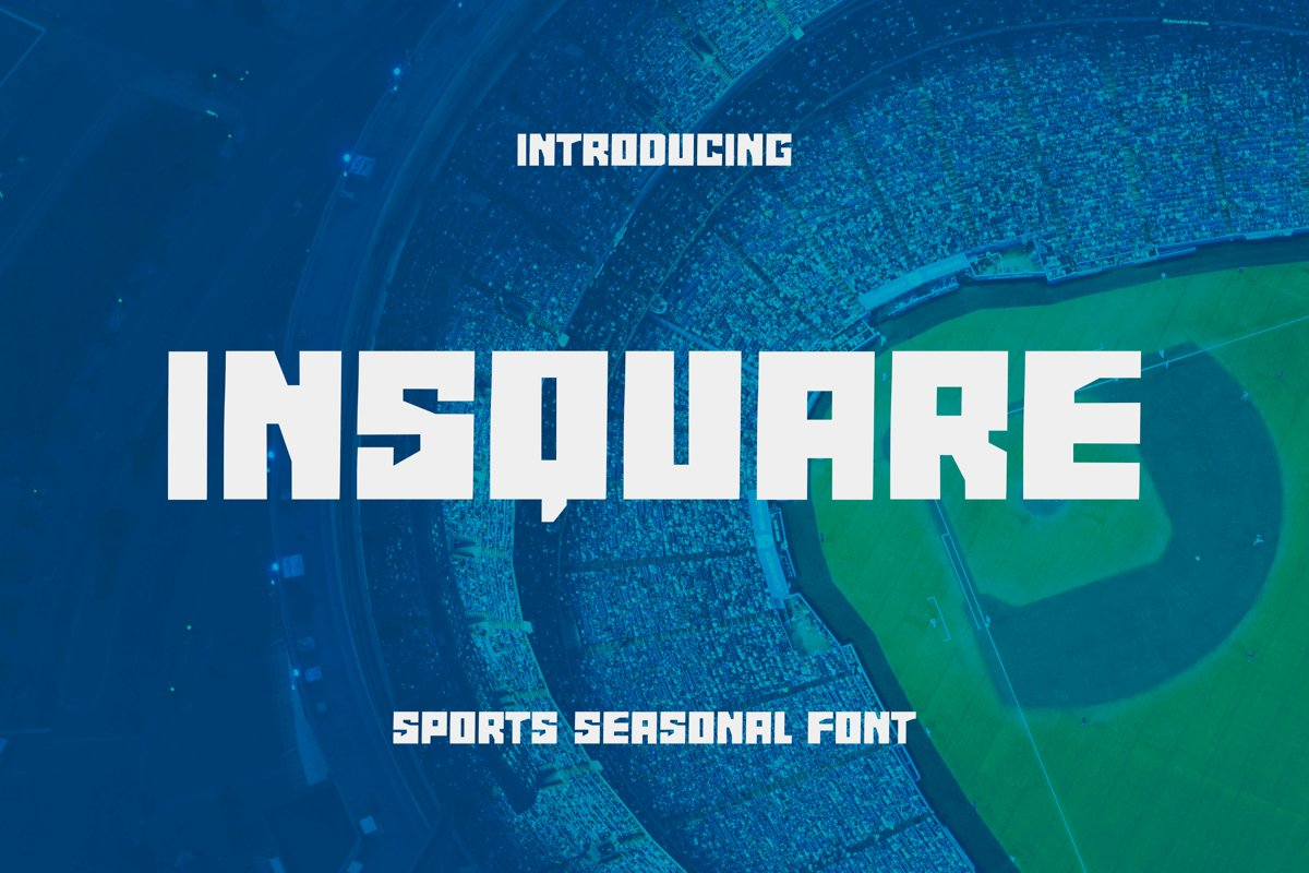 Insquare Font example image 1