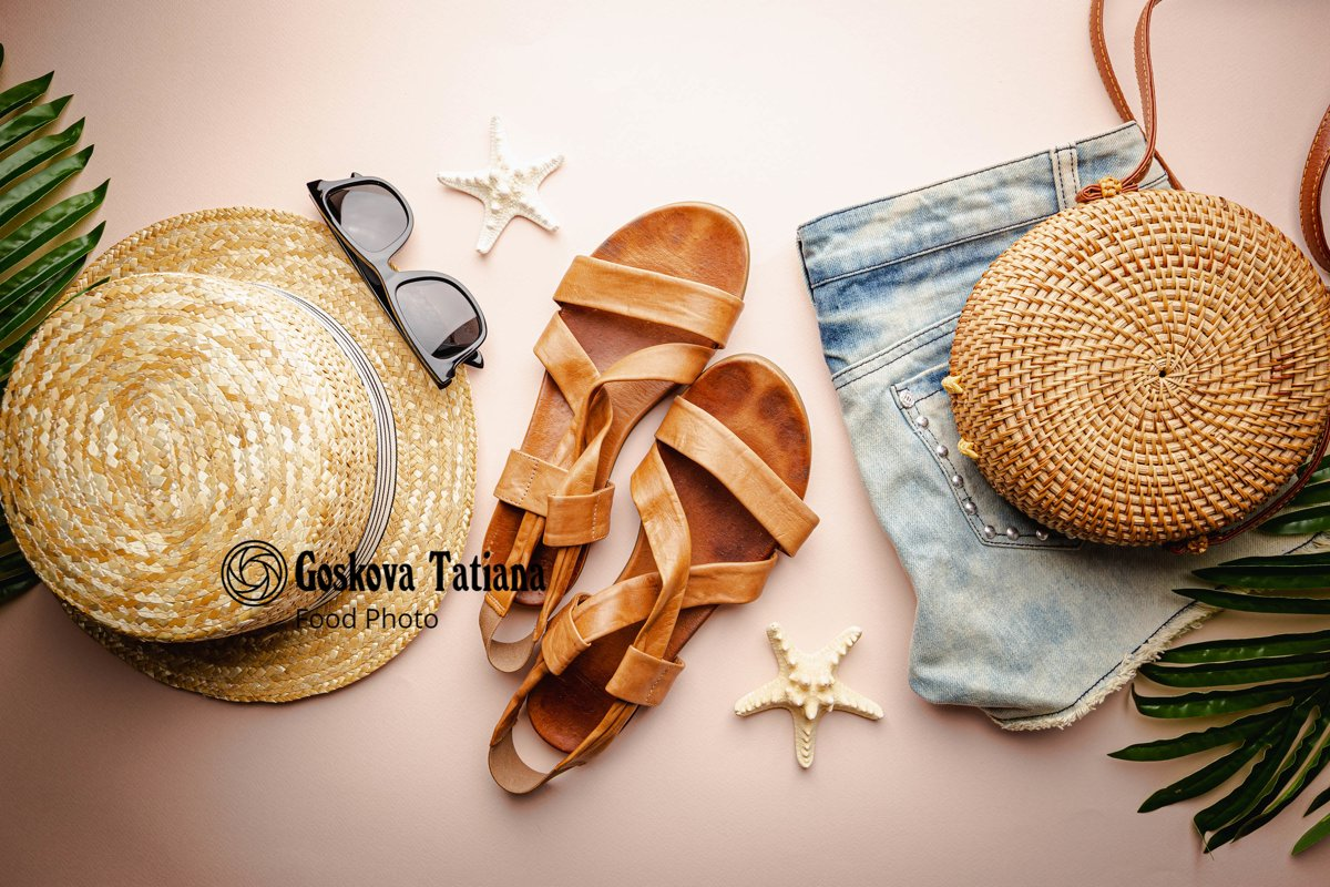 Photo of Summer holiday flat lay example image 1