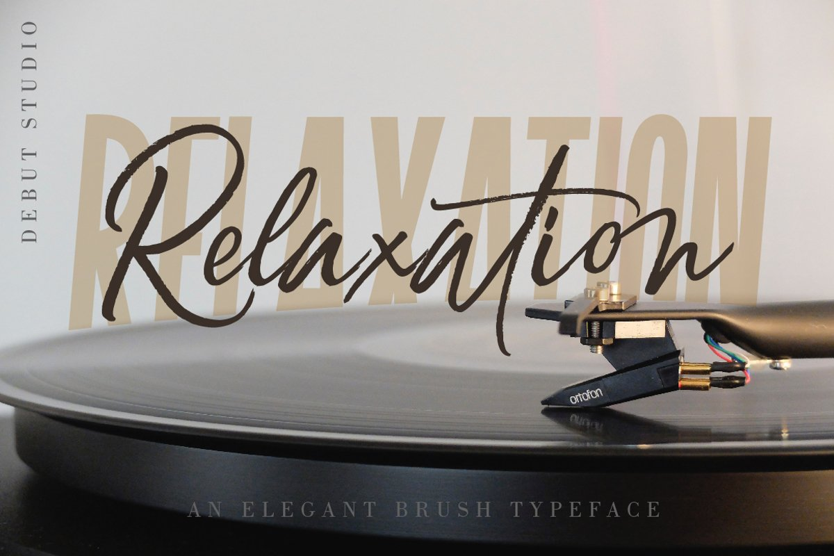 Relaxation // An Elegant Brush example image 1