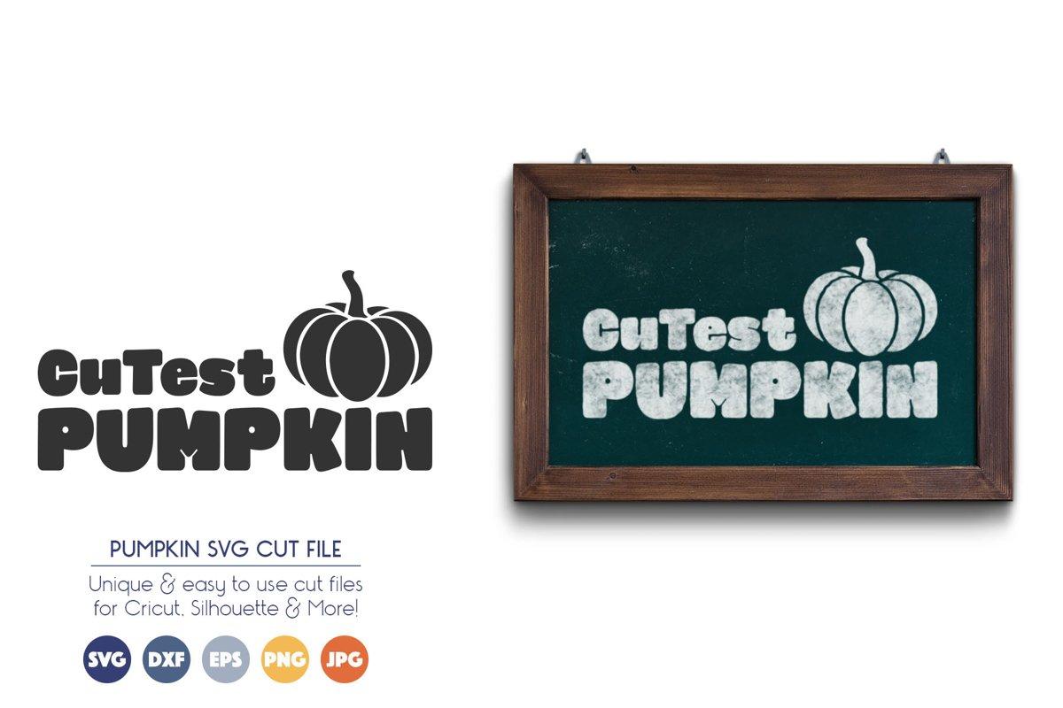 Halloween SVG Files - Cutest Pumpkin example image 1