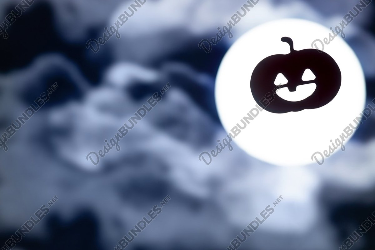 Photo of a Dark Halloween background with copy space example image 1