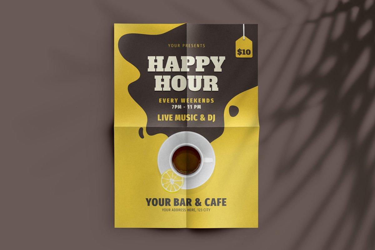 Happy Hour Flyer example image 1