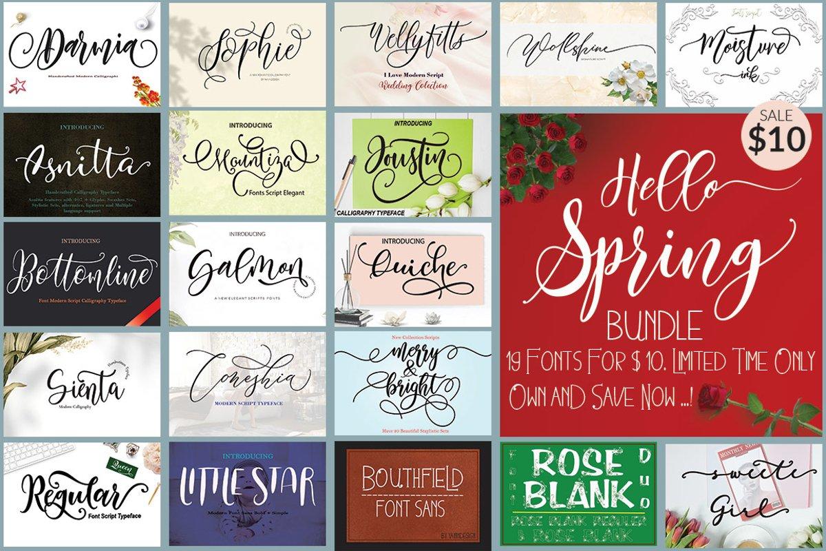 Hello Spring Bundle example image 1