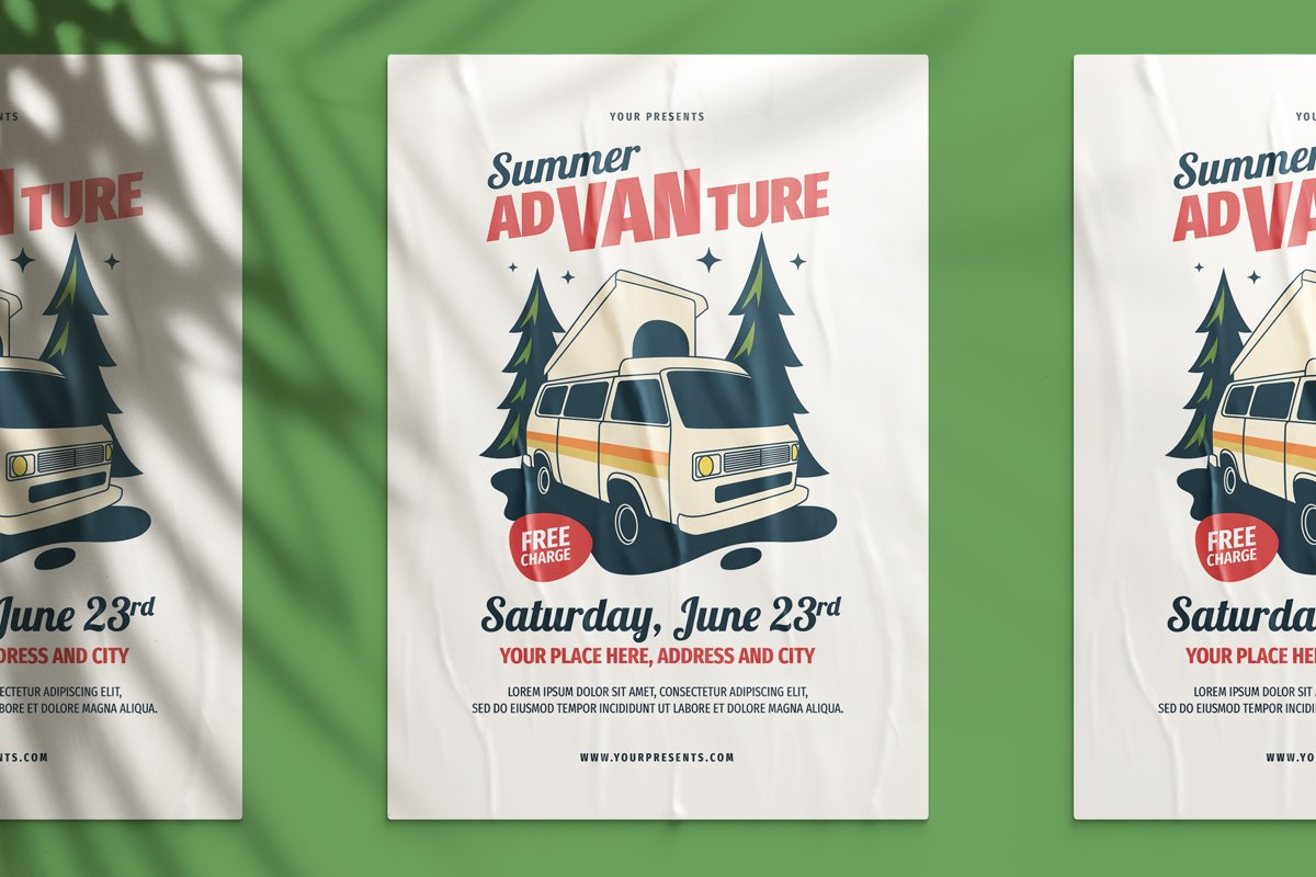 Summer Advanture Flyer example image 1