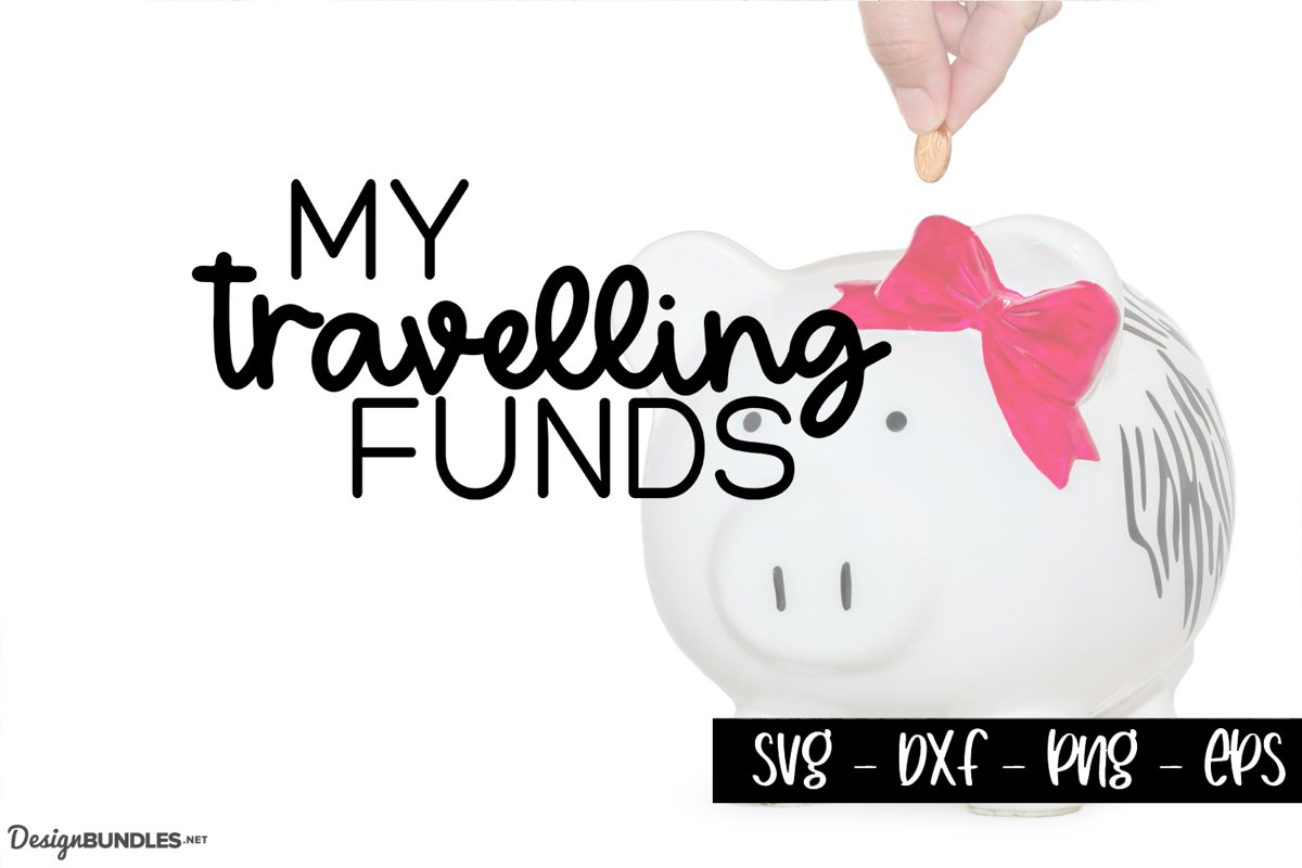 Travelling Fund - Saving Shadowbox SVG example image 1