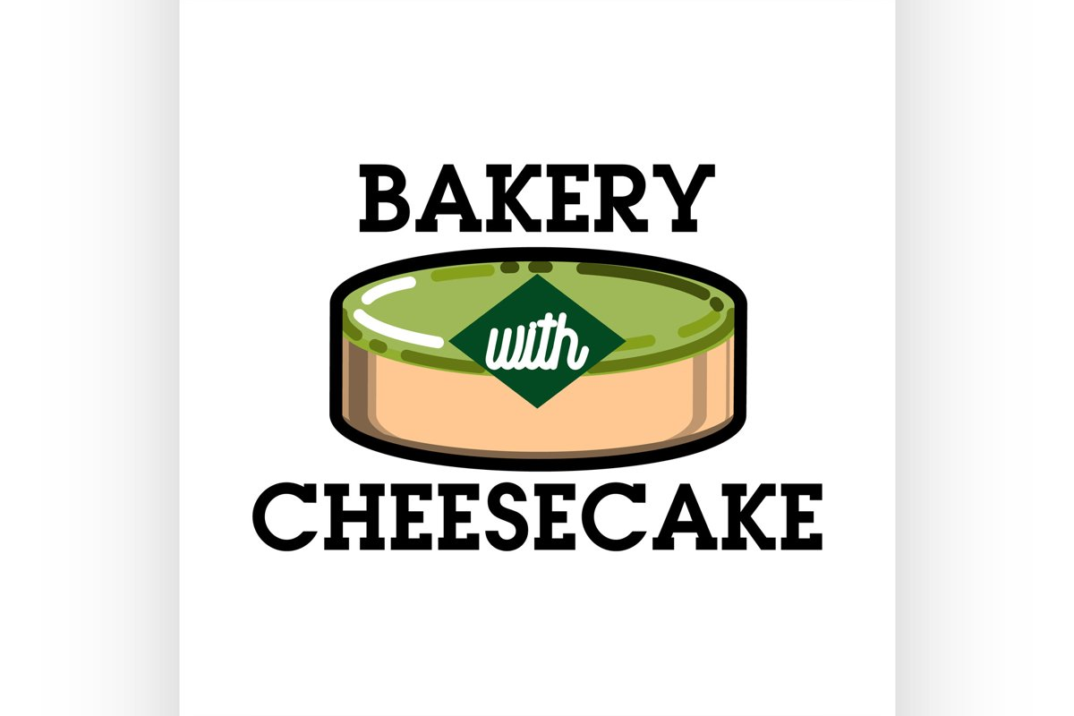 Color vintage bakery emblem example image 1