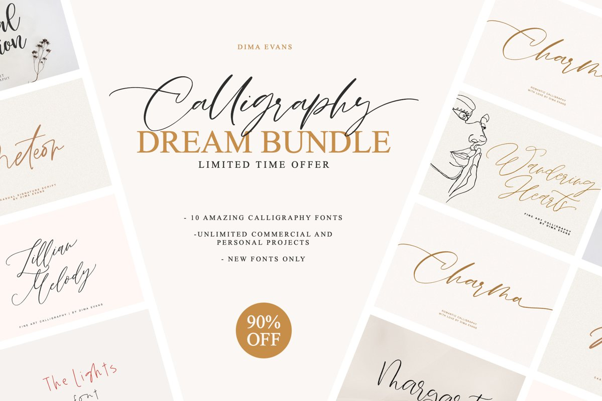 Calligraphy Dream Box example image 1