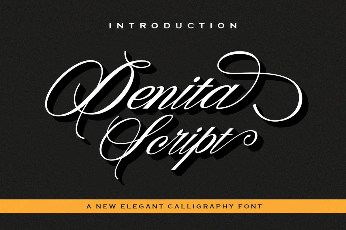 Denita Script example image 1