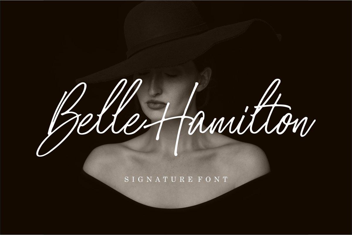 Belle Hamilton example image 1