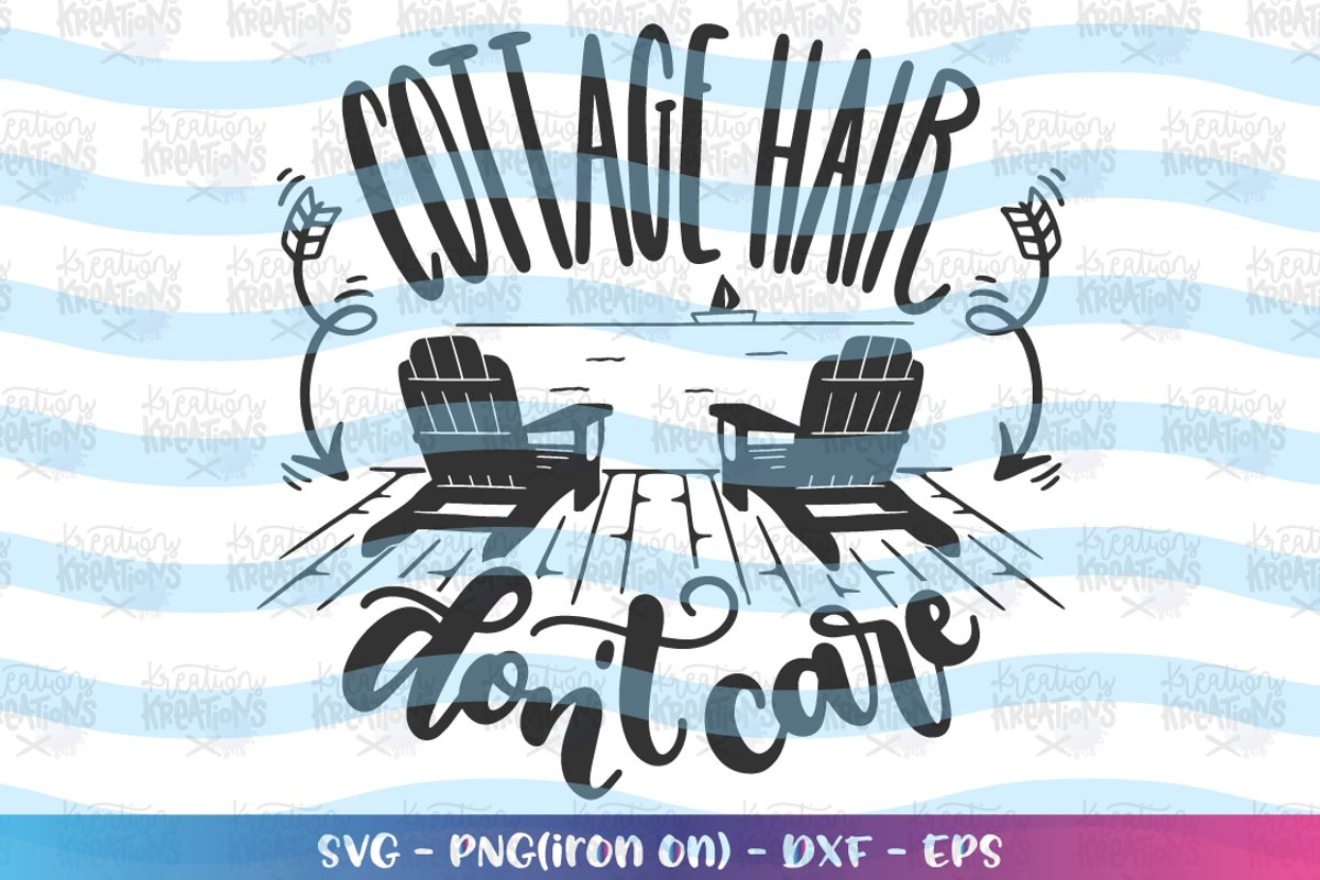 Camping svg Cottage Hair Don't care example image 1