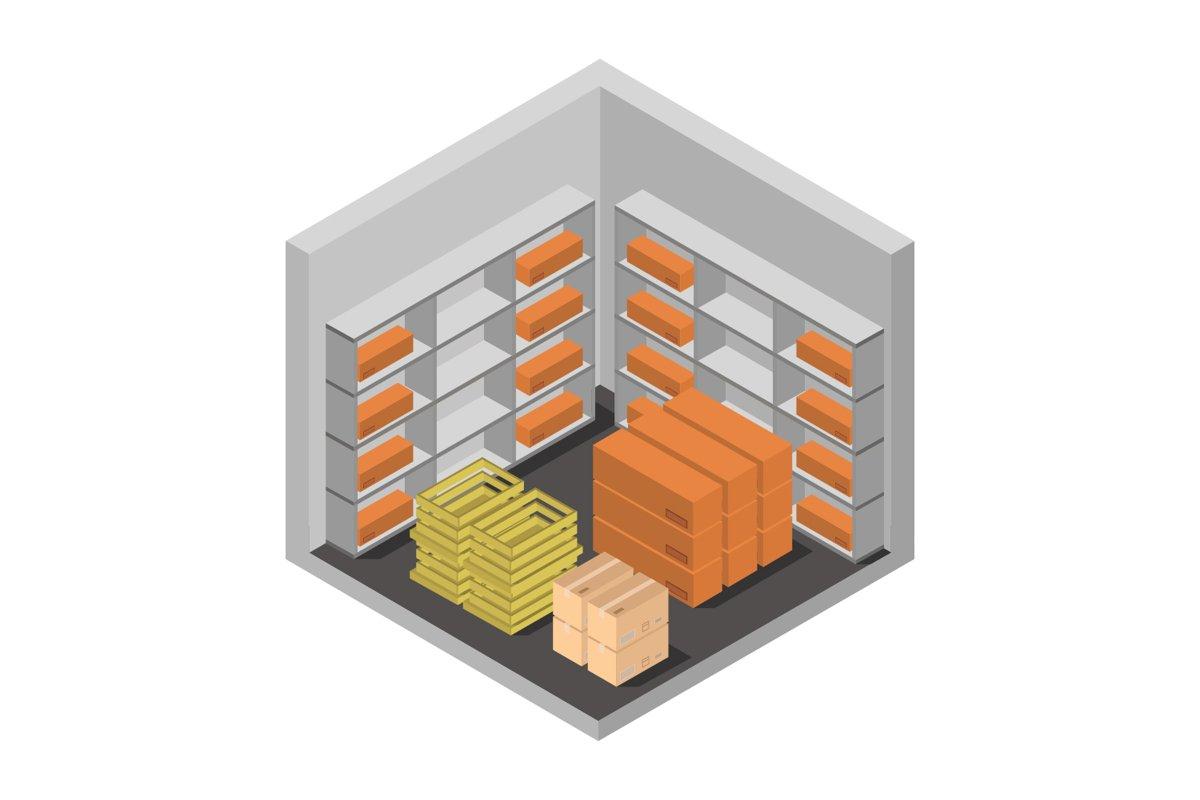 isometric warehouse example image 1