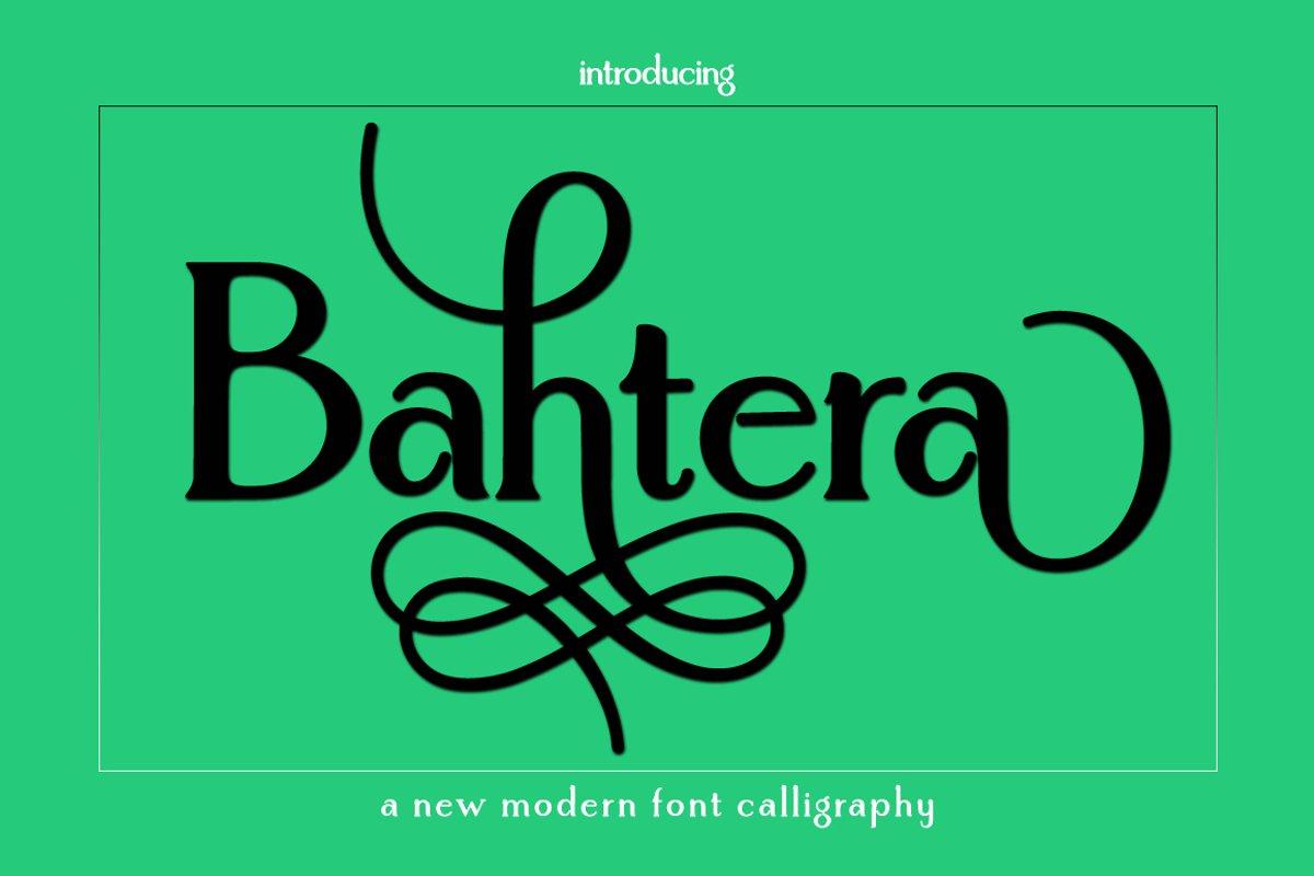 Bahtera | Monogram example image 1