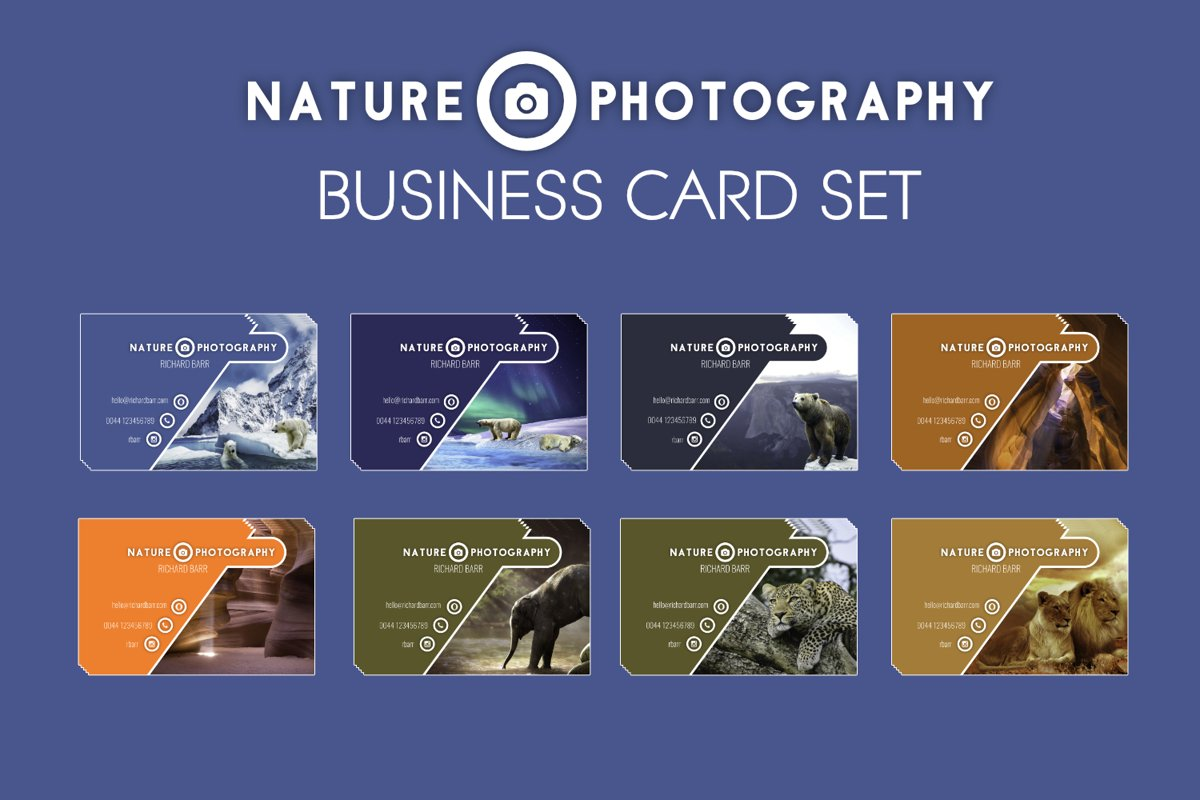 Nature Photography Business Card example image 1