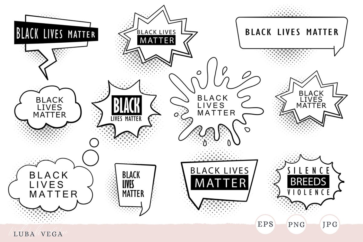 Black lives matter |Silence is violence example image 1