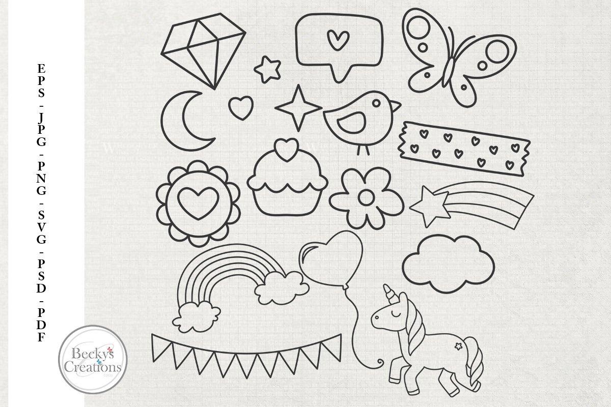 Kid Fun Doodles example image 1