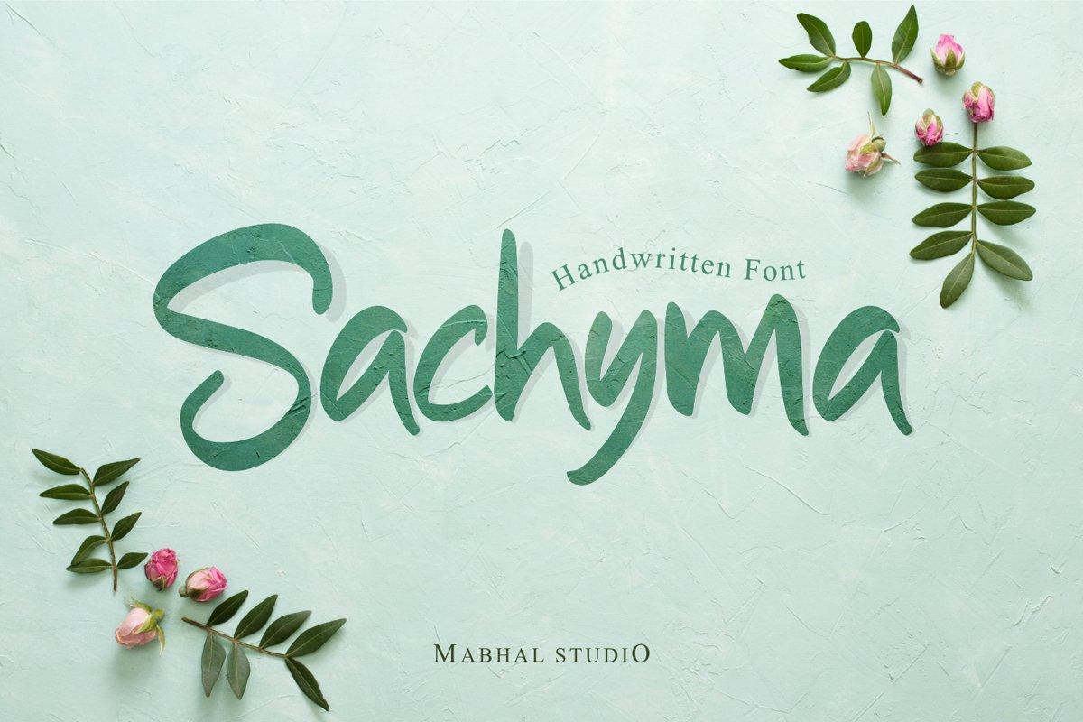 Sachyma example image 1