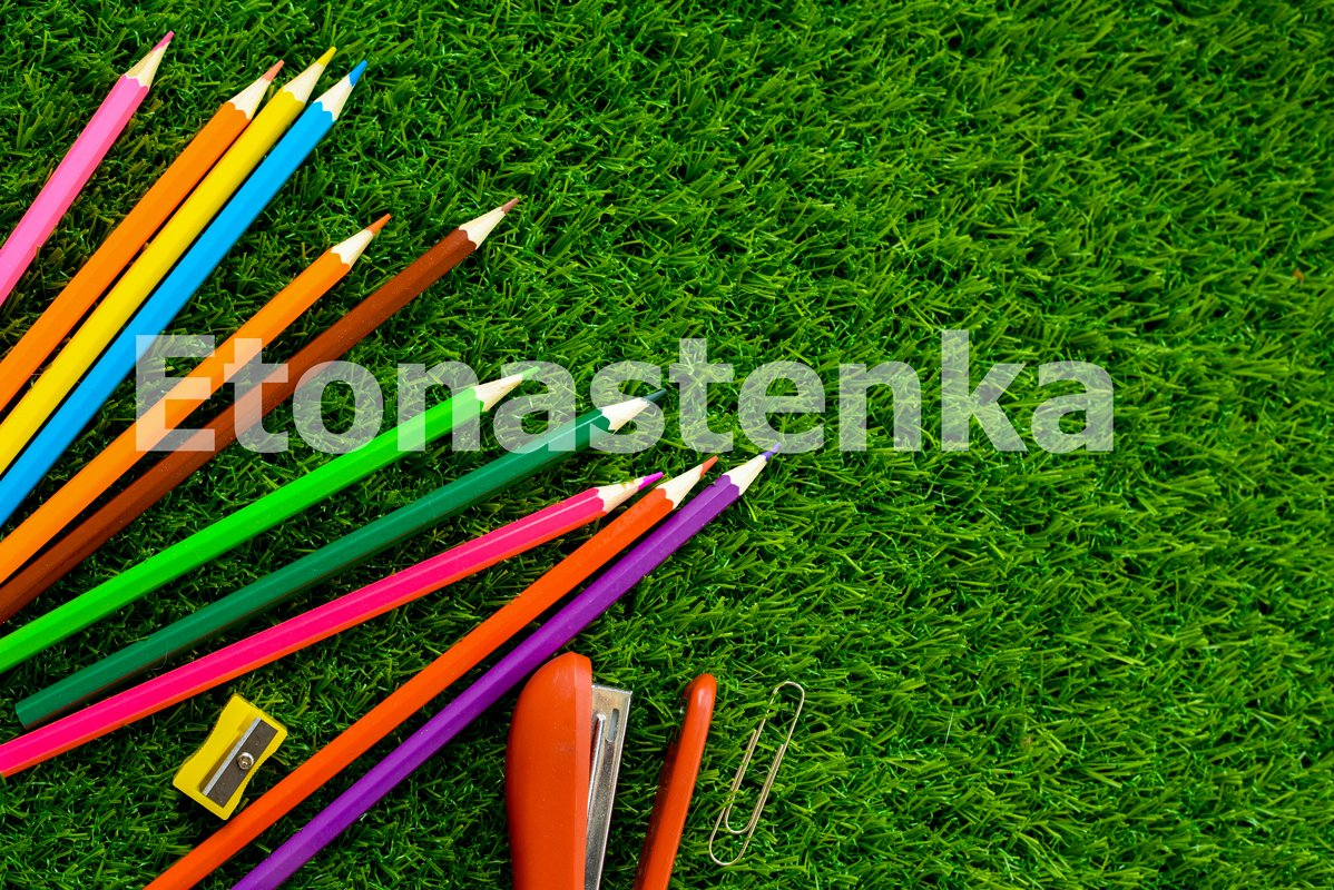 Summer background. The concept of children's hobbies example image 1