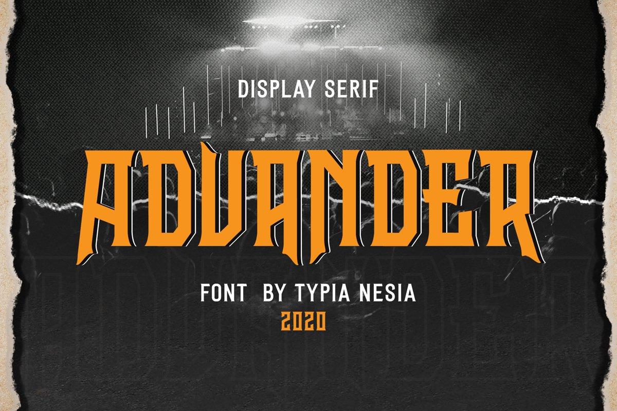 Advander Display example image 1