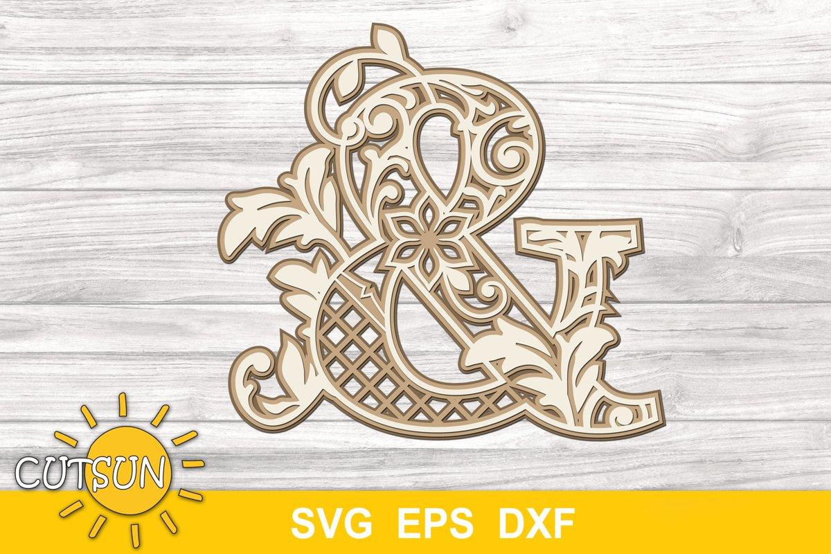 185+ Layered Alphabet Mandala Svg – SVG Bundles