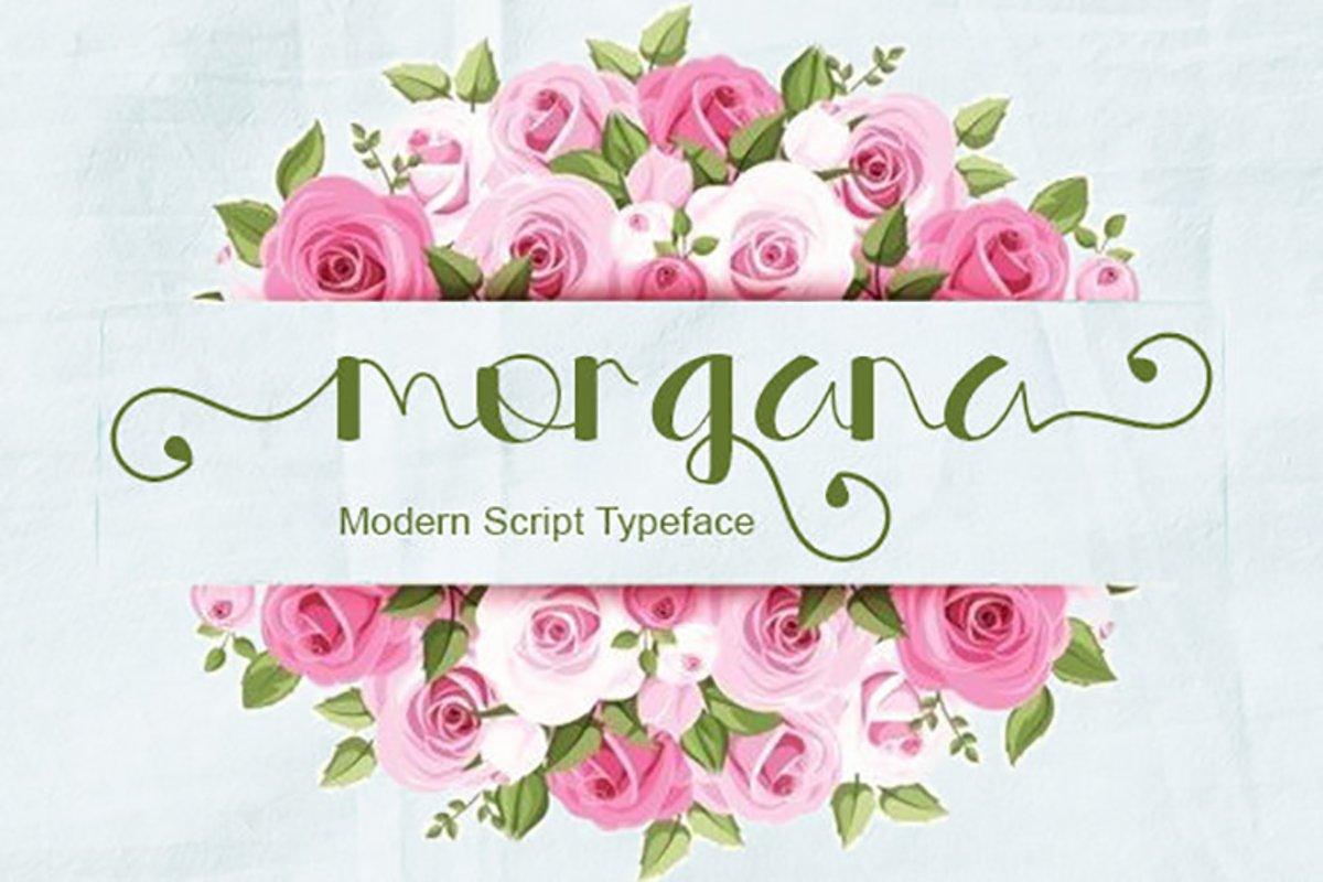 Morgana Script example image 1