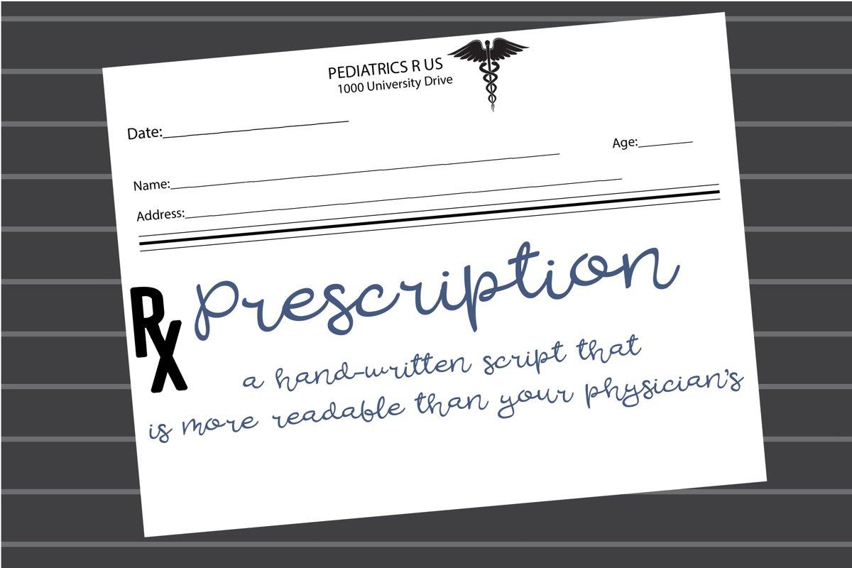 PN Prescription example image 1