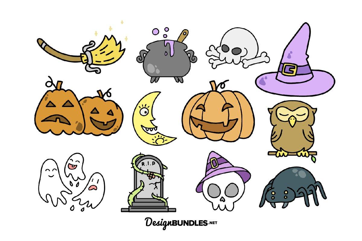 Halloween illustrations example image 1
