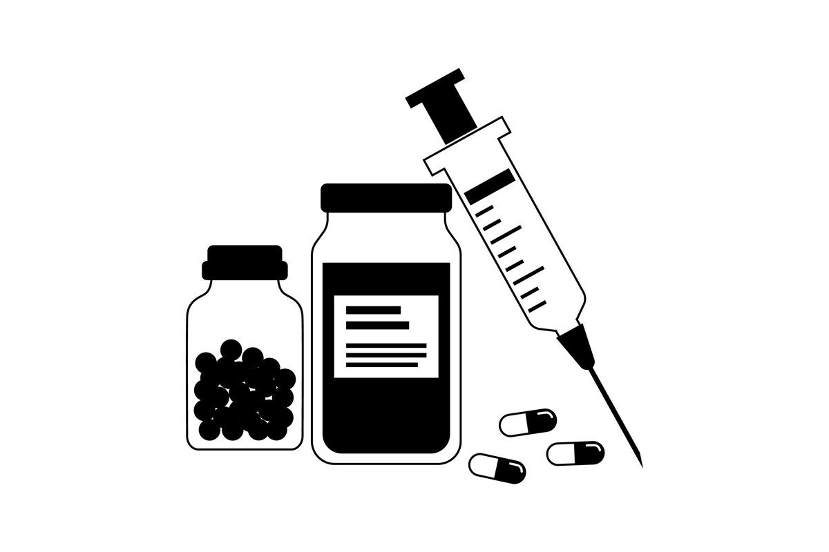 Vaccine Silhouettes example image 1