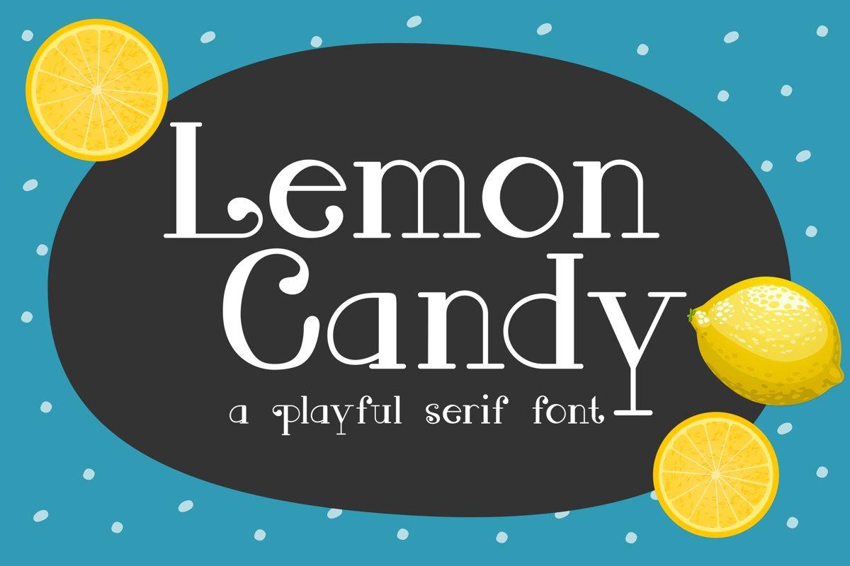 Lemon Candy Font example image 1