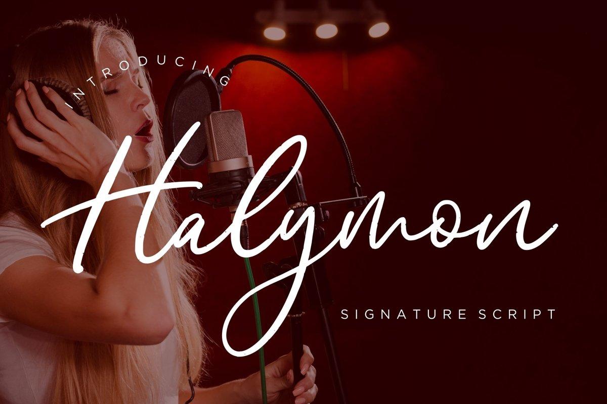 Halymon Signature Script example image 1