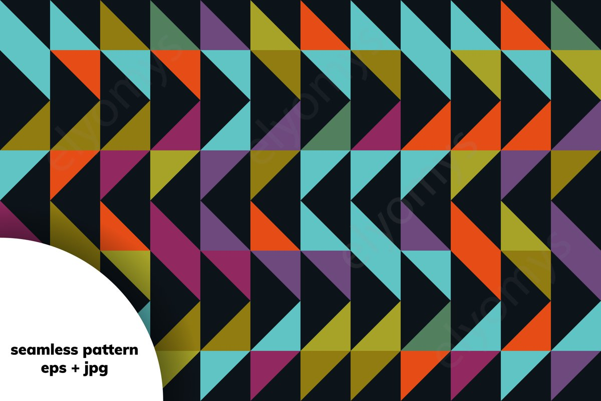 Geometric pattern example image 1