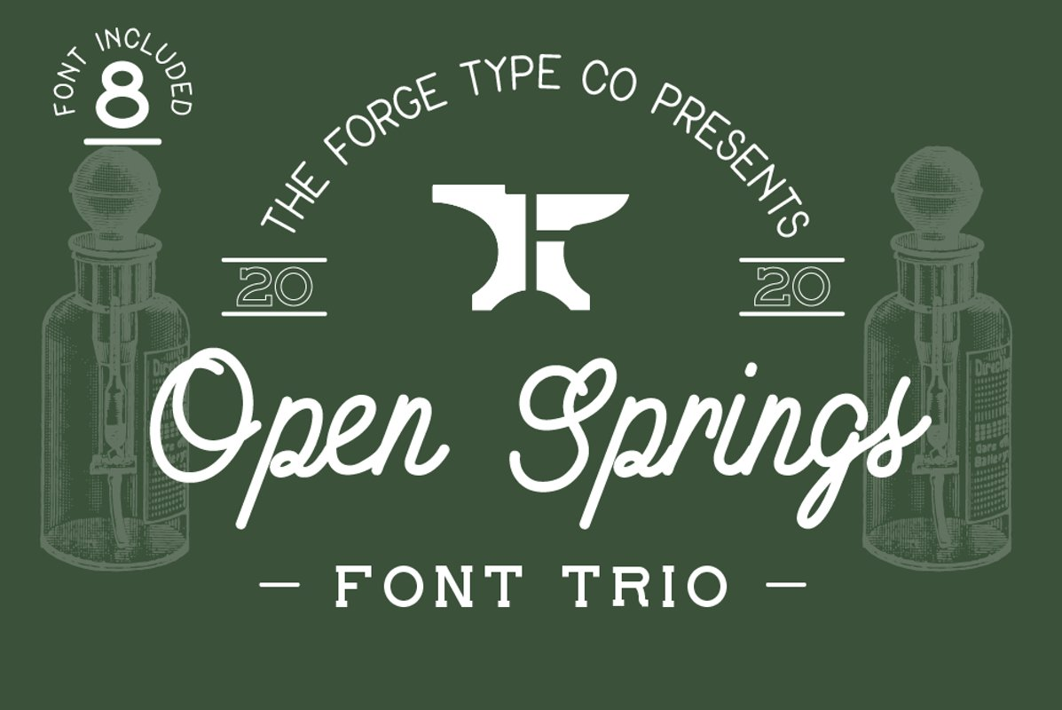 Open Springs - Font Trio example image 1